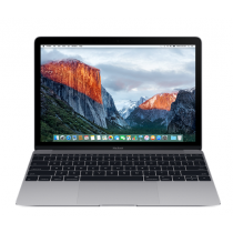 "MacBook 12"" 256 GB - Grigio Siderale - ntel Core m3 dual-core a 1,1GHz,  8GB di SDRAM LPDDR3 a 1866 MHz Archiviazione flash PCIe da 256 GB su scheda Intel HD Graphics 515 -  MLH72T/A"