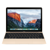 "MacBook 12"" 512 GB - Oro - Intel Core m5 dual-core a 1,2GHz, Turbo Boost fino a 2,7 GHz  8GB di SDRAM LPDDR3 a 1866 MHz Archiviazione flash PCIe da 512 GB su scheda Intel HD Graphics 515 -  MLHF2T/A"