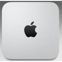 Mac mini - Processore 2,8GHz Archiviazione 1TB - Intel Core i5 dual-core a 2,8GHz - 8GB di memoria - Fusion Drive da 1TB1 - Intel Iris Graphics - OS X El Capitan - MGEQ2T/A