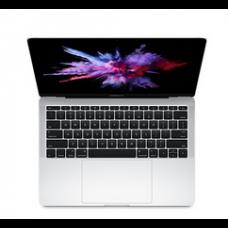 "MacBook Pro 13"" - Argento- Intel Core i5 dual-core a 2,0GHz (Turbo Boost fino a 3,1GHz) -  8GB di SDRAM LPDDR3 a 1866 MHz Unità SSD PCIe da 256GB-  ntel Iris Graphics 540 - MLUQ2T/A"