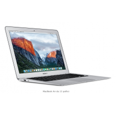 MacBook Air, 13 Pollici - Intel Core i5 dual-core a 1,6GHz, Turbo Boost fino a 2,7GHz - 8 GB di SDRAM LPDDR3 a 1600MHz - Unità flash PCIe da 128GB - MMGF2T/A