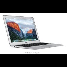MacBook Air, 13 Pollici - Intel Core i5 dual-core a 1,6GHz, Turbo Boost fino a 2,7GHz - 8 GB di SDRAM LPDDR3 a 1600MHz - Unità flash PCIe da 128GB - MMGF2T/A