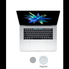 """MacBook Pro 15"""" - Argento-Touch Bar e Touch ID-  Intel Core i5 dual-core a 2,6 GHz (Turbo Boost fino a 3,5 vGHz) -  16 GB di SDRAM LPDDR3 a 2133 MHz Unità SSD PCIe da 256 GB-  Radeon Pro 450 con 2GB di memoria - MLW72T/A"""